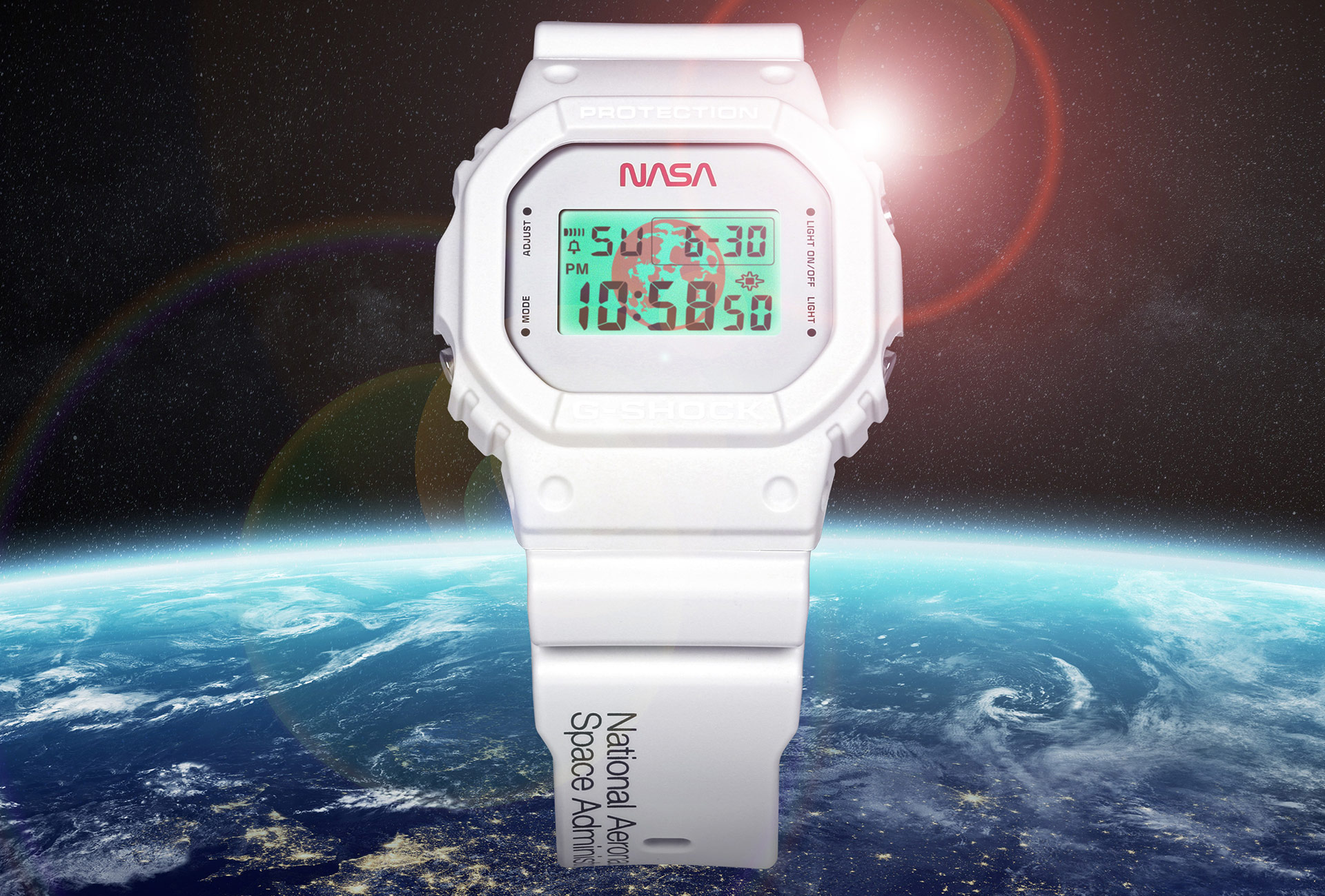 Casio G-SHOCK Pays Homage to NASA with Limited-Edition G-SHOCK Timepiece