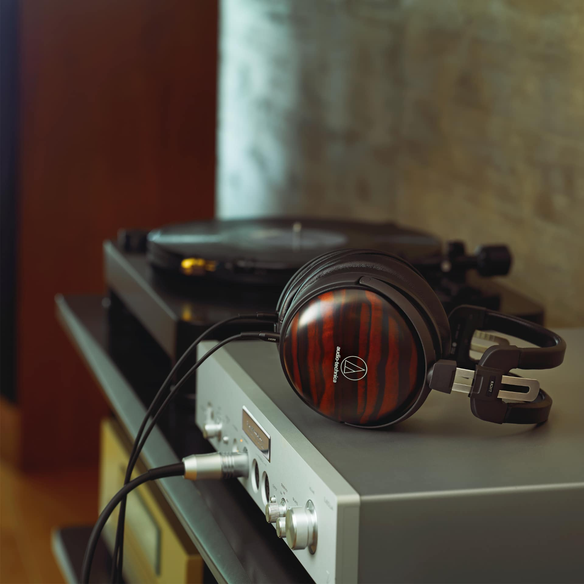 Audiophile Headphones by Audio-Technica Made from Rare Woods