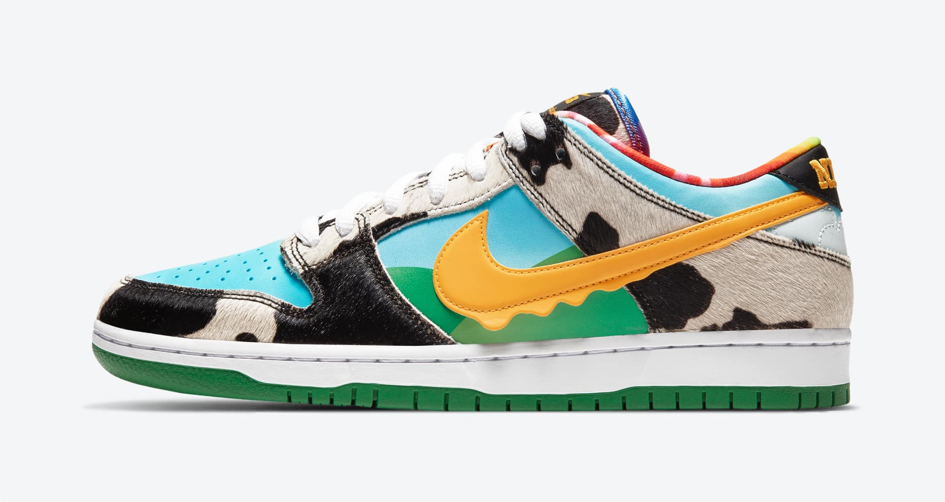 Chunky Dunky Colorful Sneakers by Nike SB and Ben & Jerry's